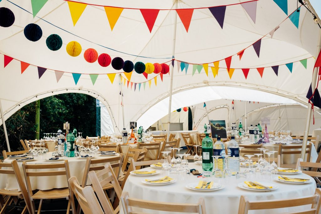 capri marquee decor