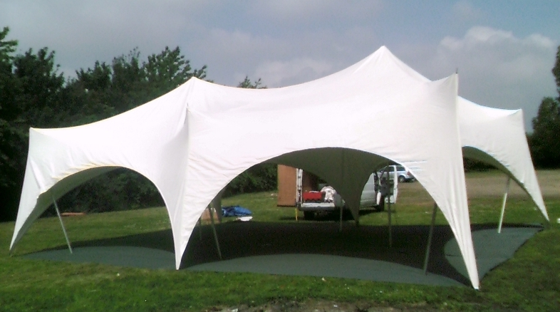 tension marquee hire