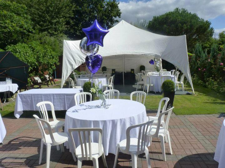 garden party marquee hire