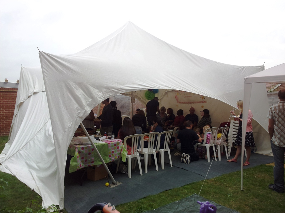 small marquees for hire